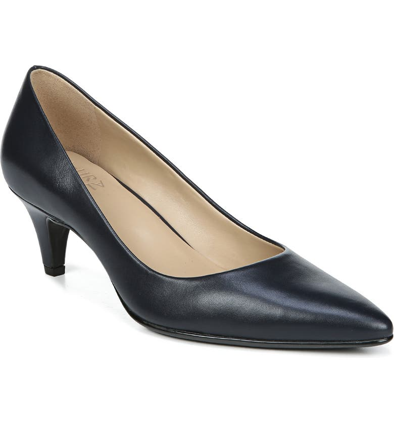 NATURALIZER Beverly Pump, Main, color, INKY NAVY LEATHER