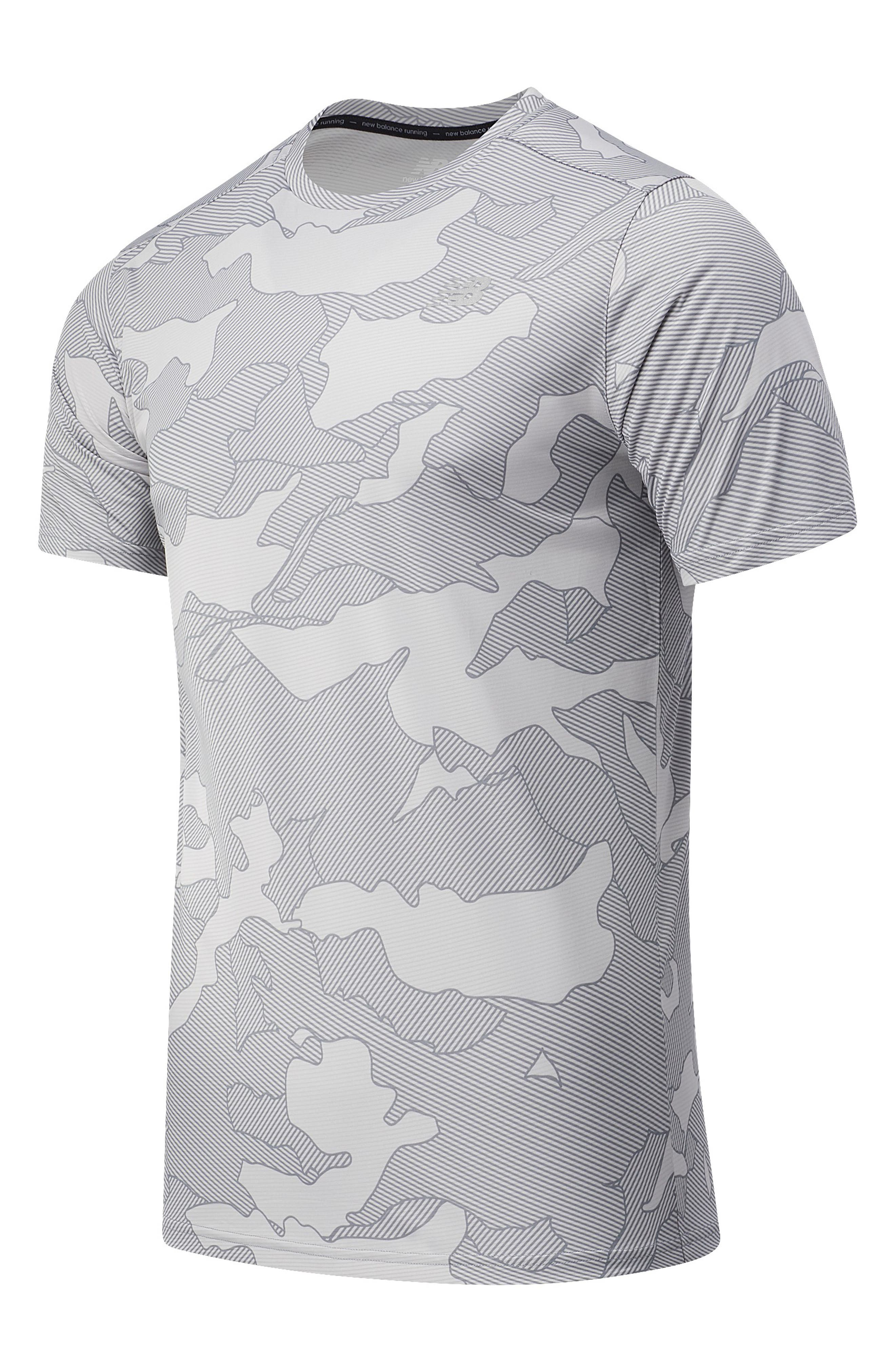 Image of New Balance Printed Accelerate Short Sleeve Tee