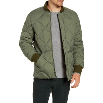 Madewell Quilted Puffer Jacket, Green