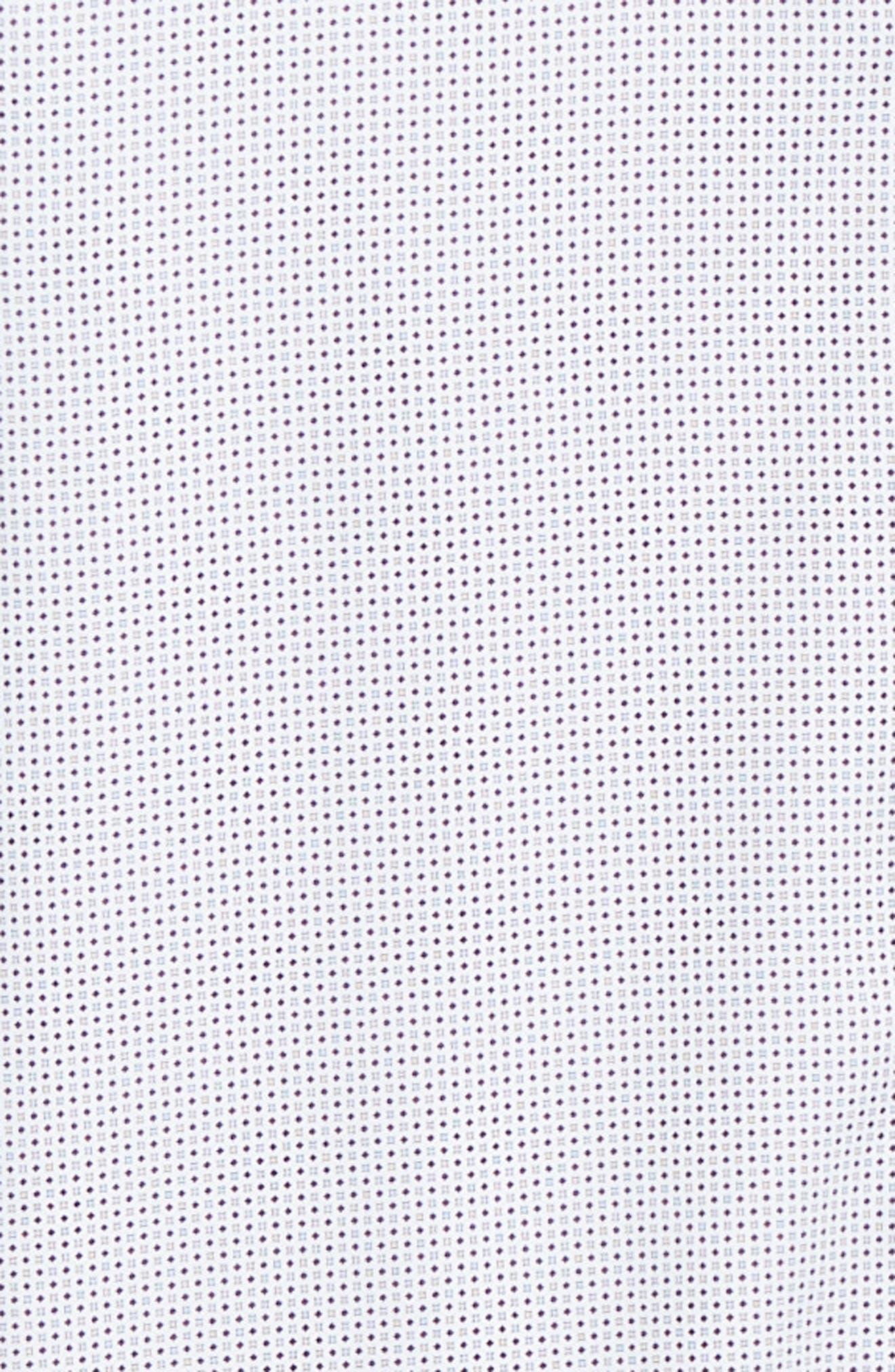 ,                             Subik Slim Fit Geo Print Sport Shirt,                             Alternate thumbnail 6, color,                             110