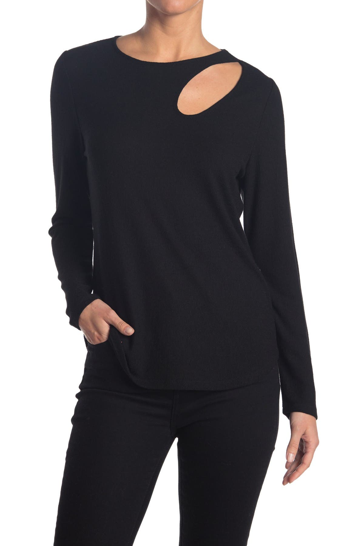 Image of Chenault Knit Cutout Top
