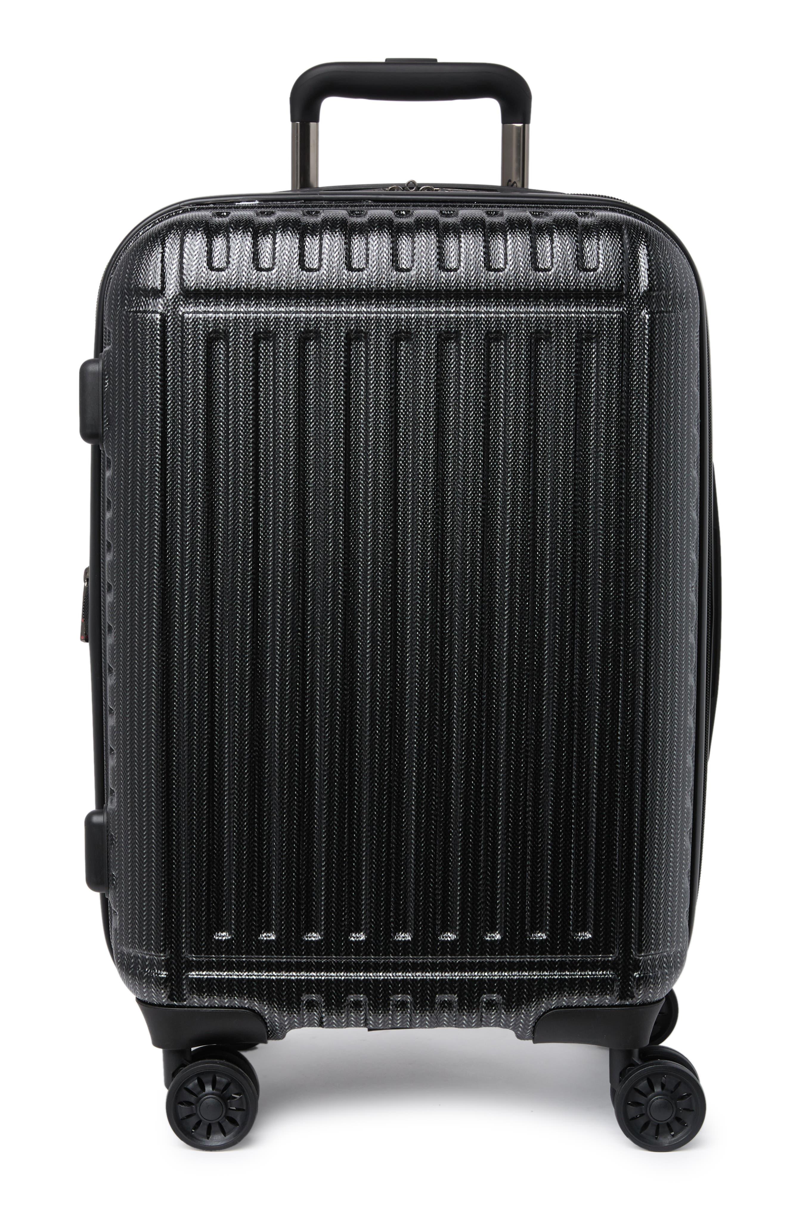 """Sammys Granite 20"""" Hardside Spinner Suitcase In Black At Nordstrom Rack"""