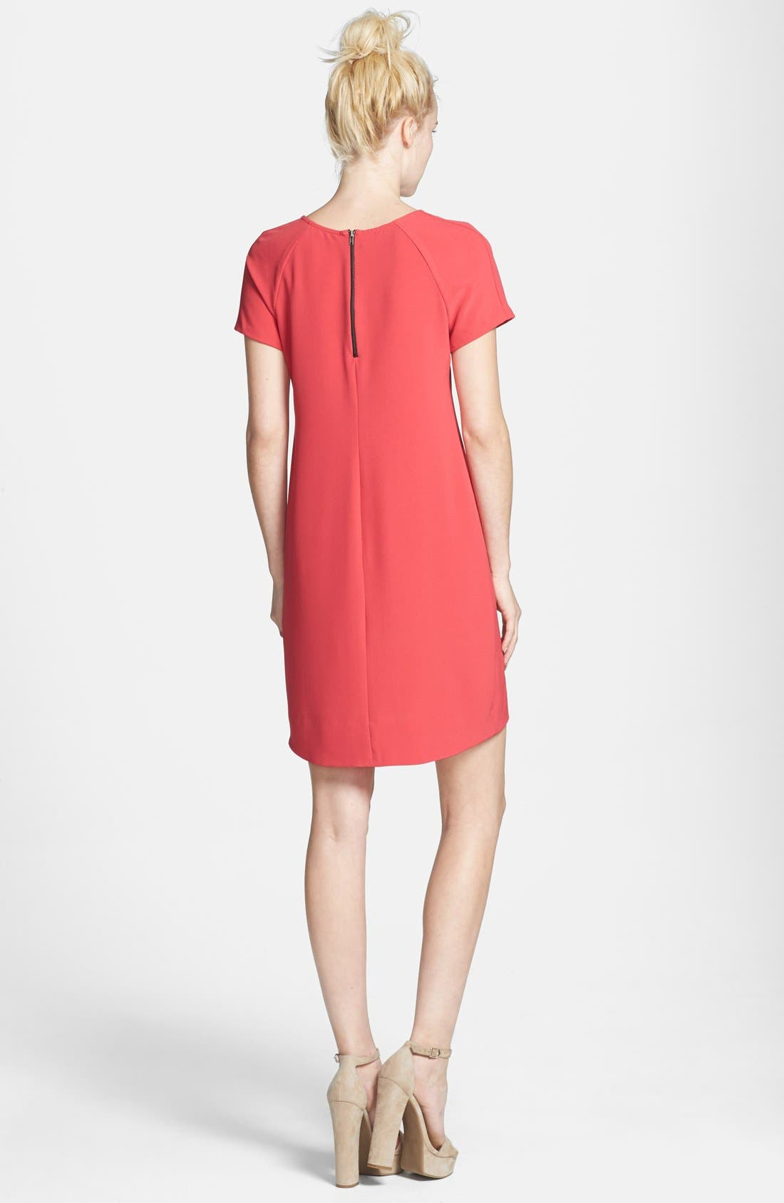,                             Crepe Shift Dress,                             Alternate thumbnail 15, color,                             651