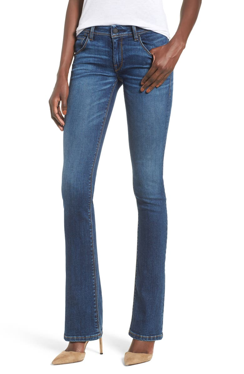 HUDSON JEANS Beth Baby Bootcut Jeans, Main, color, FENIMORE