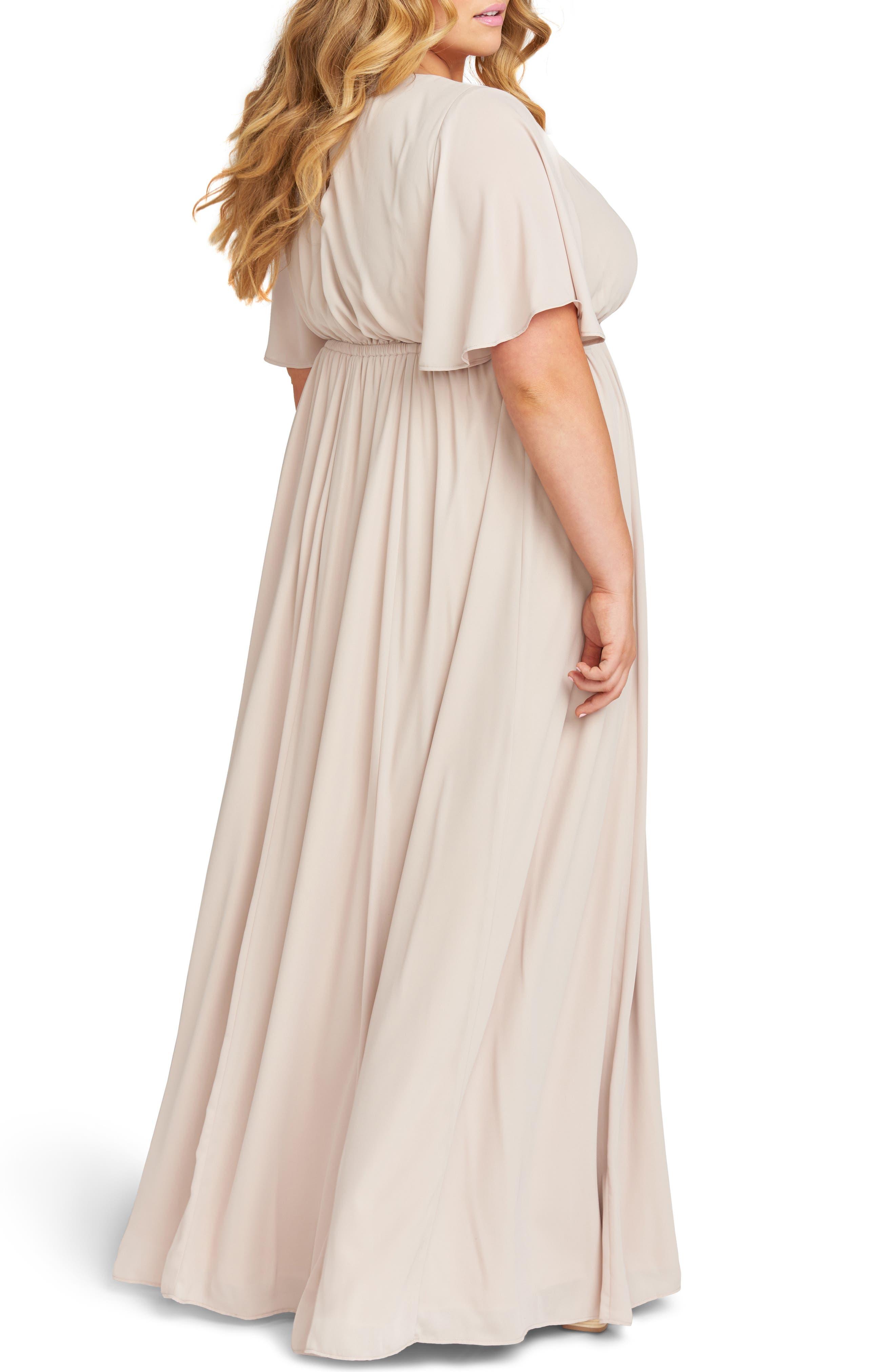 ,                             Emily Evening Dress,                             Alternate thumbnail 2, color,                             SHOW ME THE RING