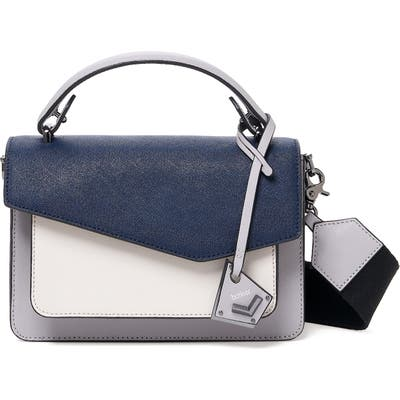 Botkier Cobble Hill Leather Crossbody Bag - Blue