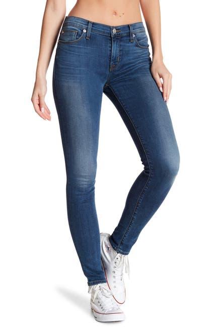 Image of HUDSON Jeans Natalie Mid Rise Super Skinny Jeans