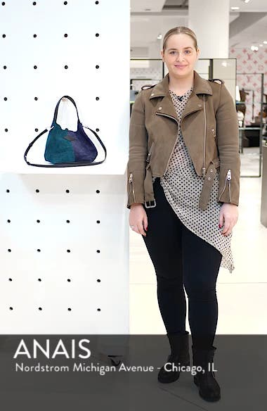 Mini Camden Suede Tote, sales video thumbnail