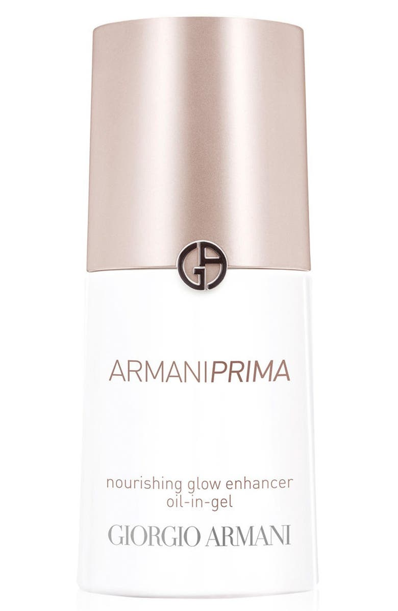 GIORGIO ARMANI Prima Nourishing Glow Enhancer Oil-in-Gel, Main, color, 000