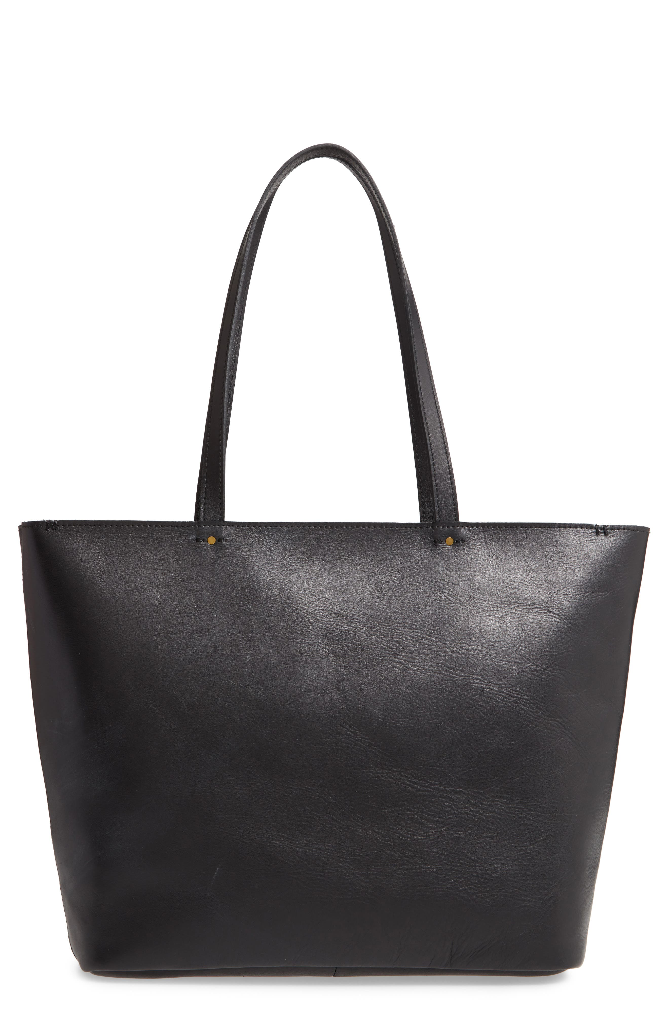 ,                             The Abroad Tote Bag,                             Main thumbnail 1, color,                             TRUE BLACK