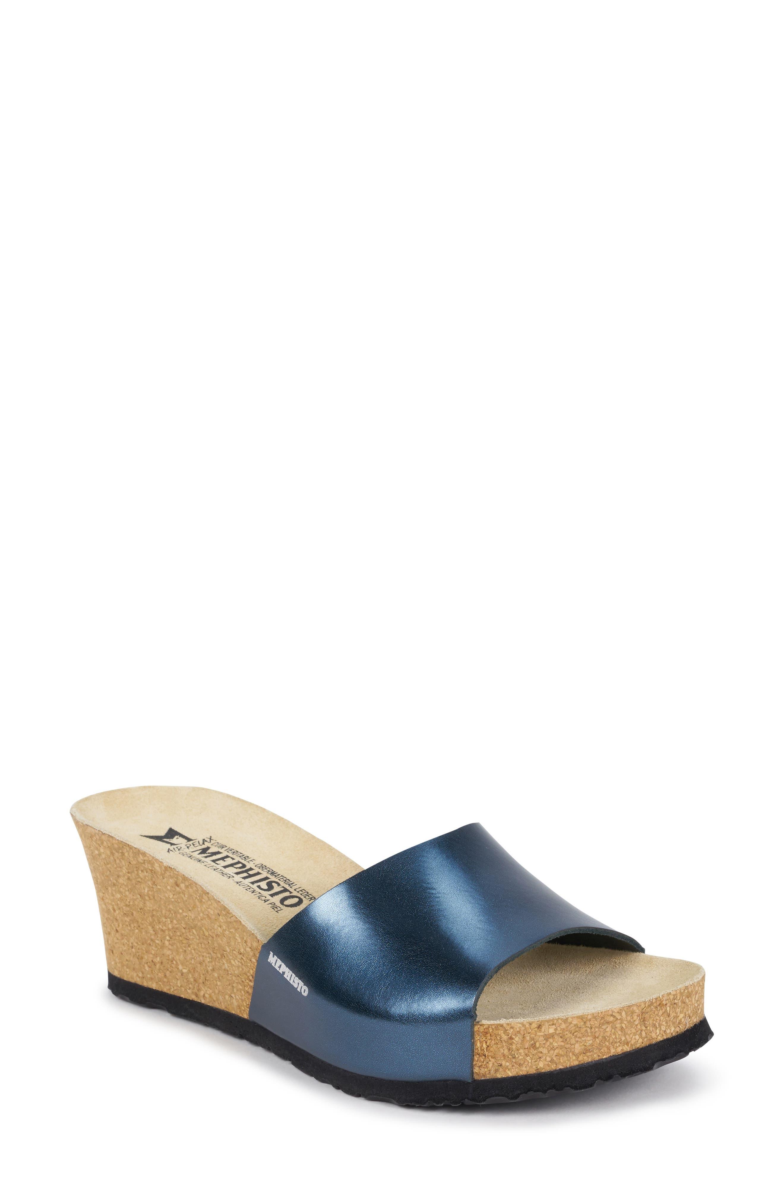 Lise Platform Wedge Sandal