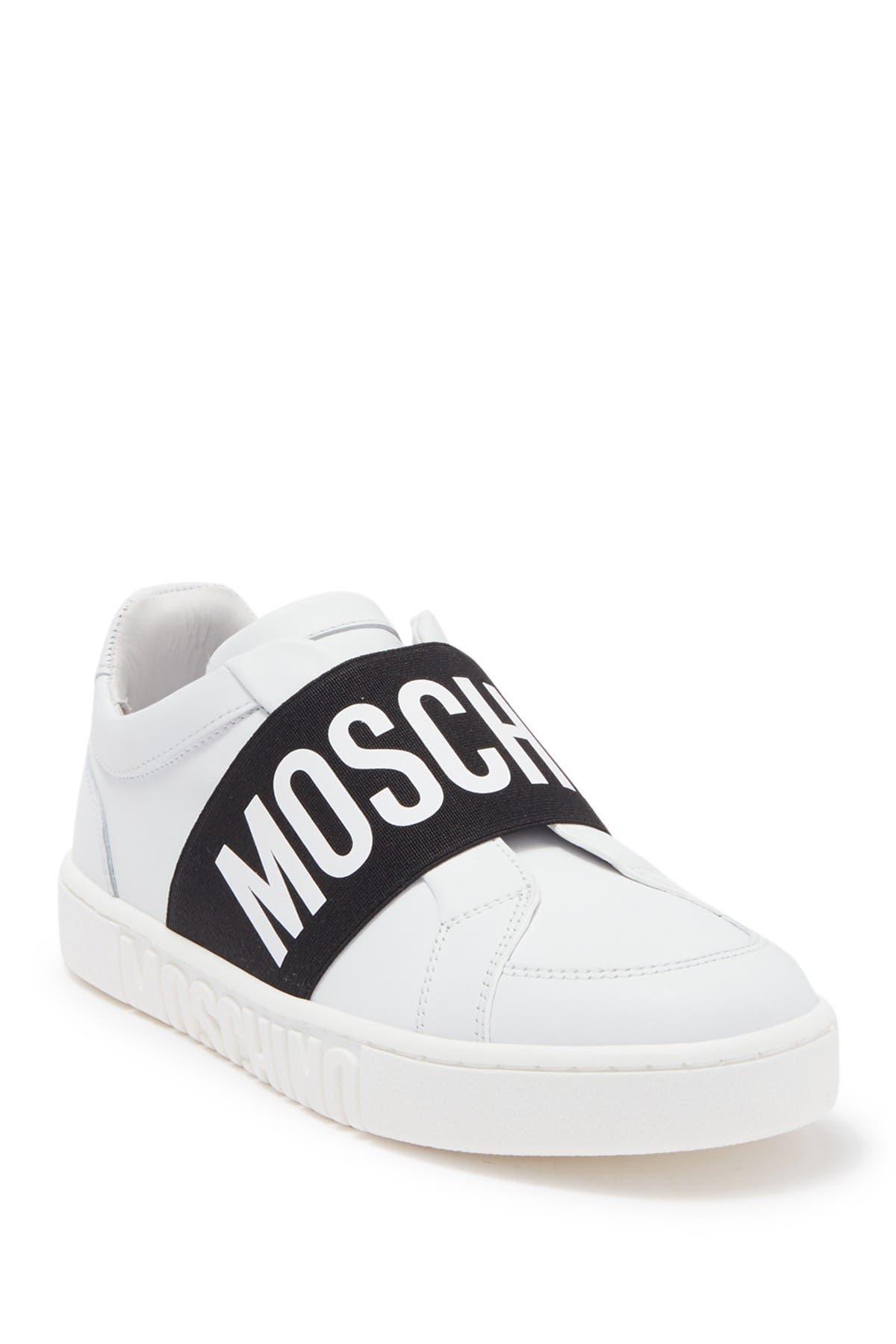 Image of MOSCHINO Logo Strap Slip-On Sneaker