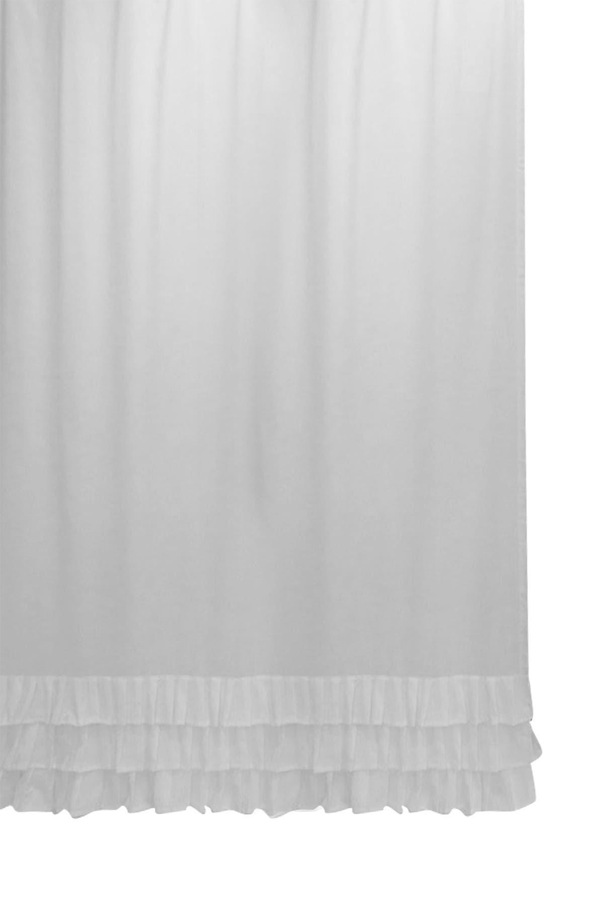 Bcbg Ruffle Shower Curtain White Nordstrom Rack