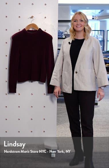 Puffy Crewneck Sweater, sales video thumbnail