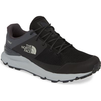 The North Face Val Mid Waterproof Hiking Shoe- Black