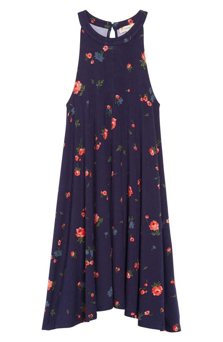 TUCKER + TATE Sweet Print Dress, Main, color, 410
