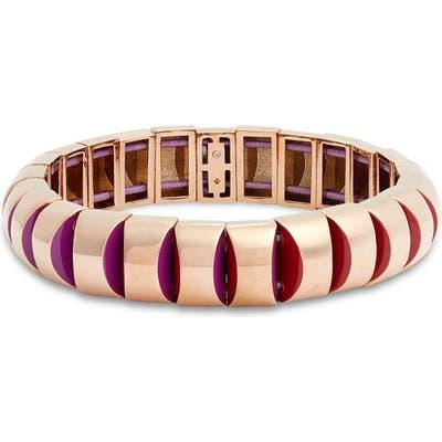 Kate Spade New York Sliced Scallops Small Metal Stretch Bracelet