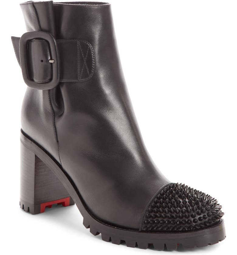 size 40 ea522 3903f Christian Louboutin Olivia Spiked Boot (Women) | Nordstrom