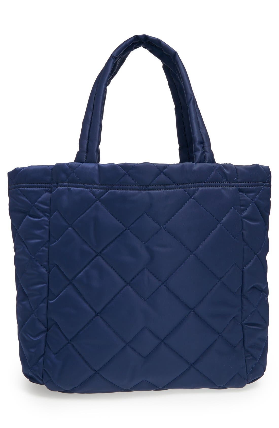 ,                             MARC BY MARC JACOBS 'Crosby' Quilted Nylon Tote,                             Alternate thumbnail 5, color,                             401