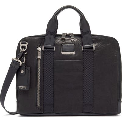 Tumi Bravo Aviano Slim Briefcase - Black