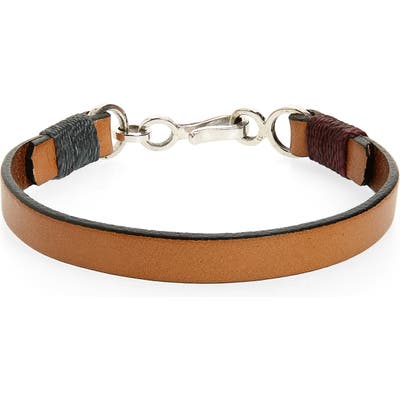 Caputo & Co. Leather Bracelet