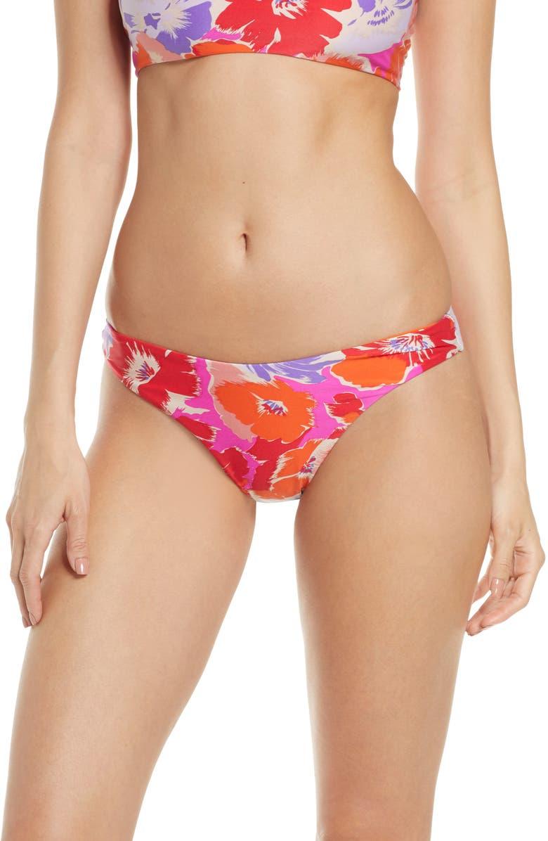 L SPACE Tanline Brazilian Bikini Bottoms, Main, color, 650