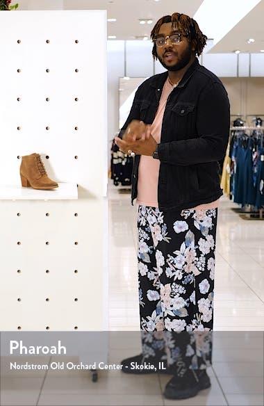 Corlea Lace-Up Bootie, sales video thumbnail
