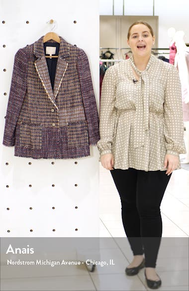 Blanket Tweed Blazer, sales video thumbnail