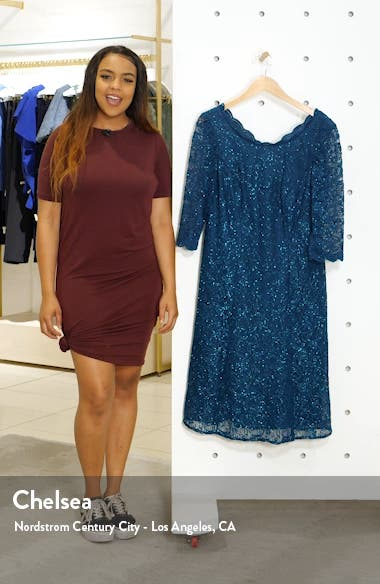 Embellished Lace A-Line Dress, sales video thumbnail