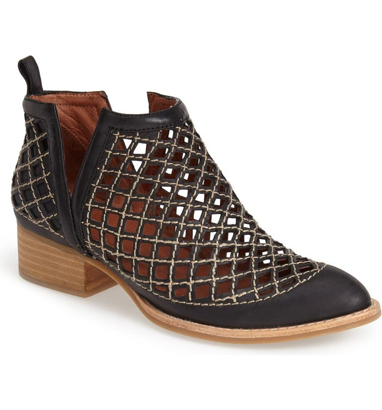 JEFFREY CAMPBELL Taggart Ankle Boot, Main, color, 001