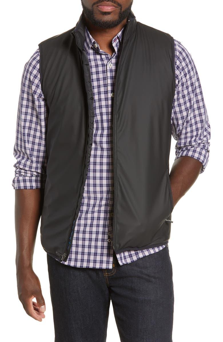 MOVE PERFORMANCE APPAREL Zip Vest, Main, color, BLACK