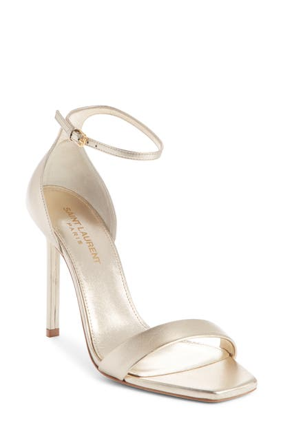 Saint Laurent High heels AMBER ANKLE STRAP STILETTO SANDAL