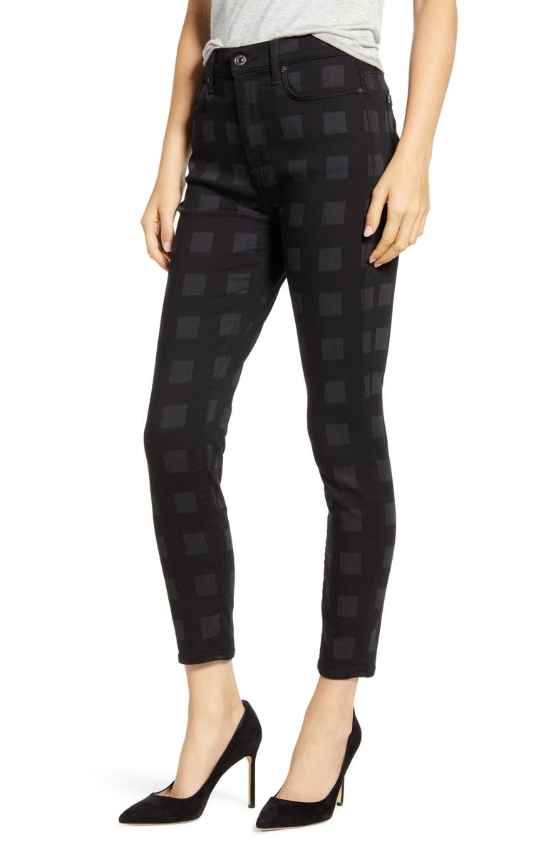 7 FOR ALL MANKIND<SUP>®</SUP> 7 For All Mankind High Waist Laser Skinny Ankle Jeans, Main, color, 004