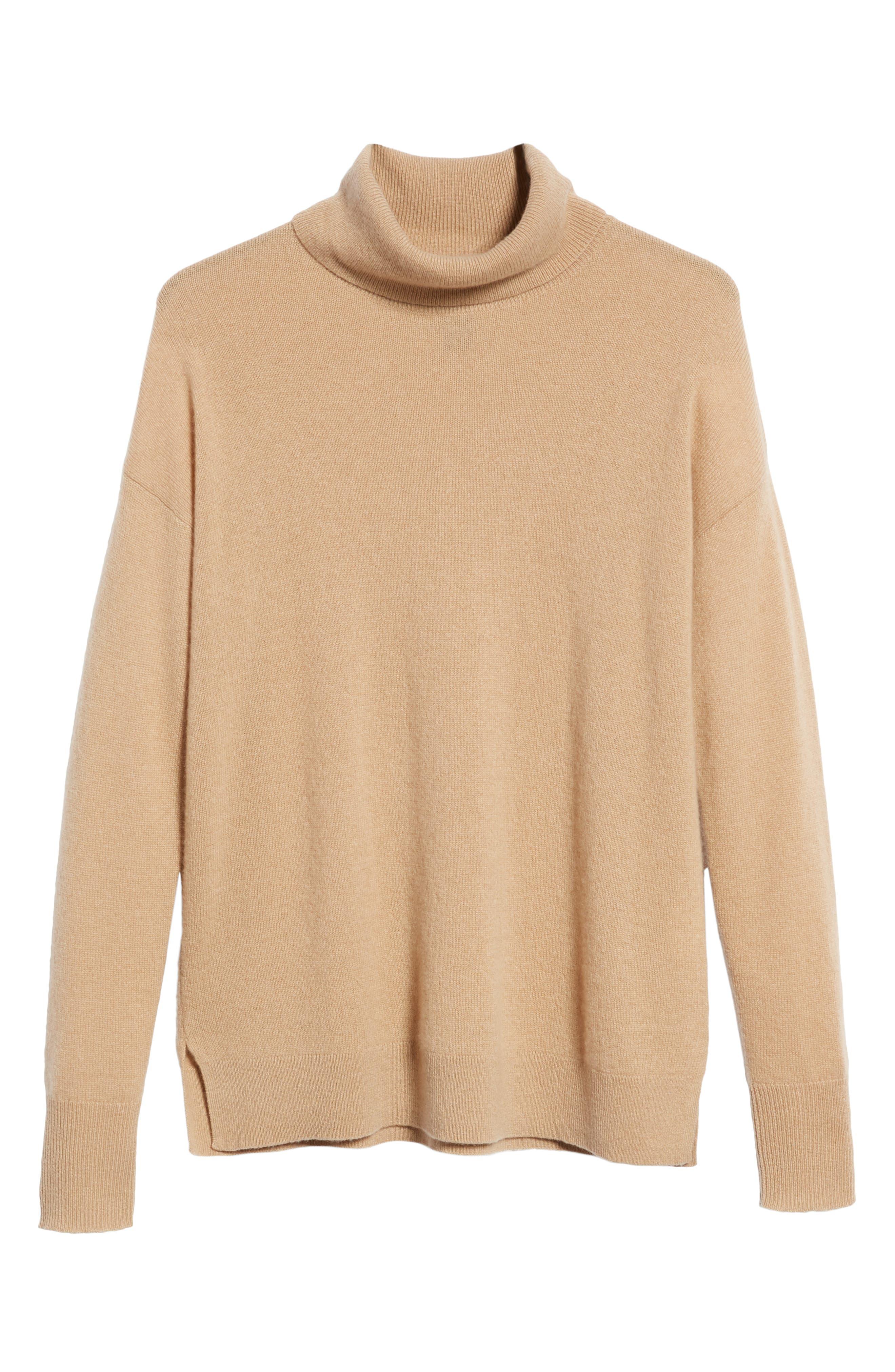 ,                             Cashmere Turtleneck Sweater,                             Alternate thumbnail 24, color,                             230