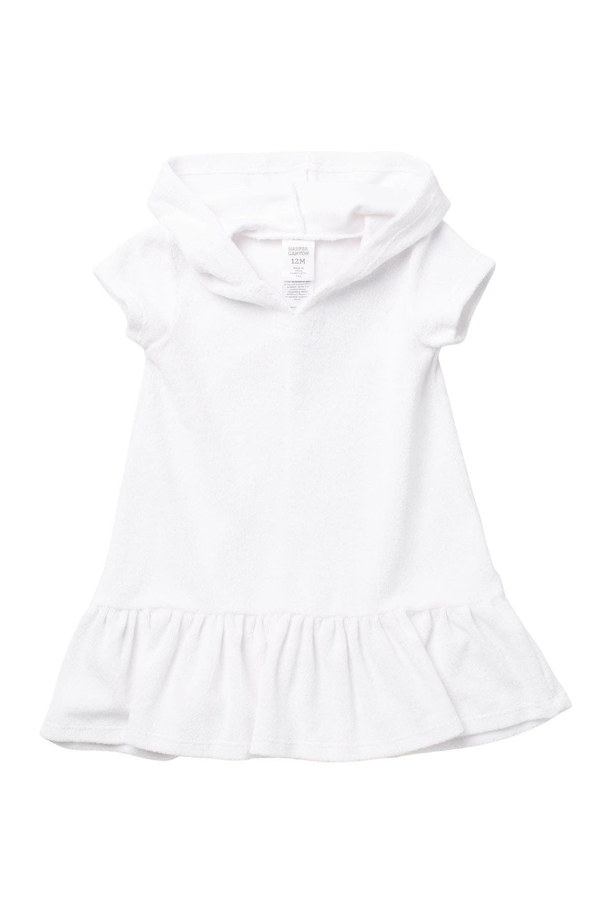 Image of Harper Canyon Hooded Toweling Cover-Up
