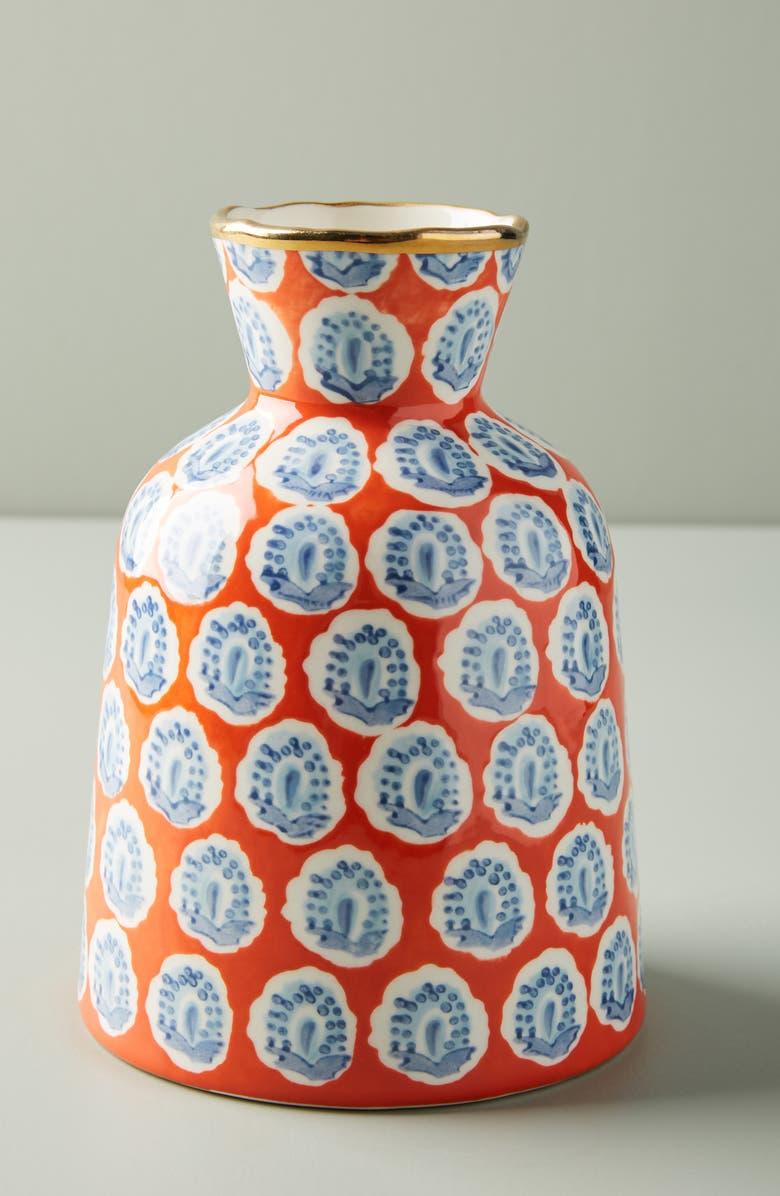ANTHROPOLOGIE Small Elsa Vase, Main, color, 600