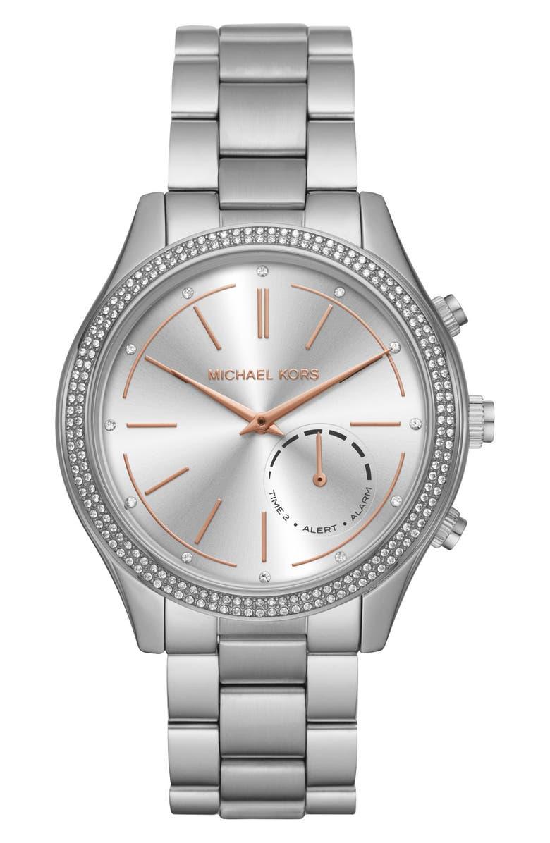 MICHAEL KORS Access Smart Bracelet Watch, 42mm, Main, color, 040