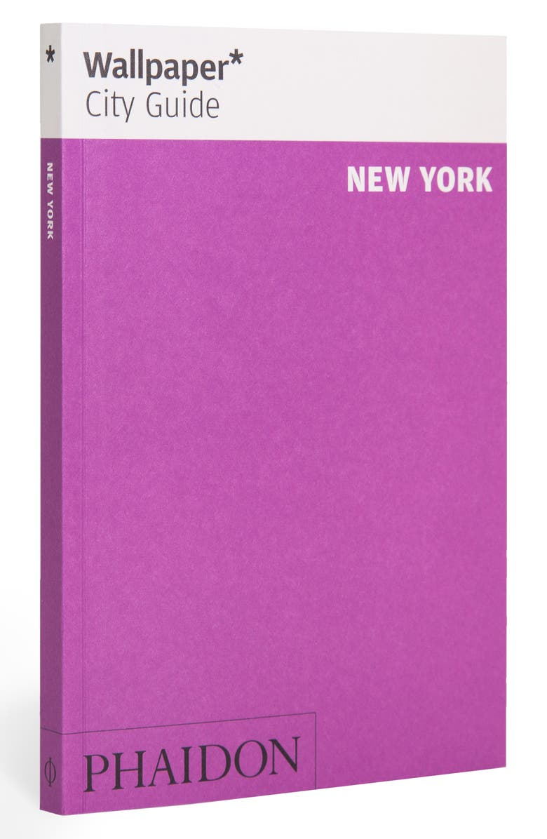 PHAIDON PRESS 'Wallpaper* City Guide New York' Pocket Size Travel Book, Main, color, PURPLE