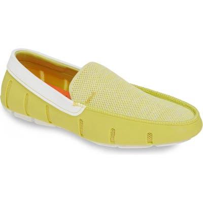 Swims Driving Shoe, Green