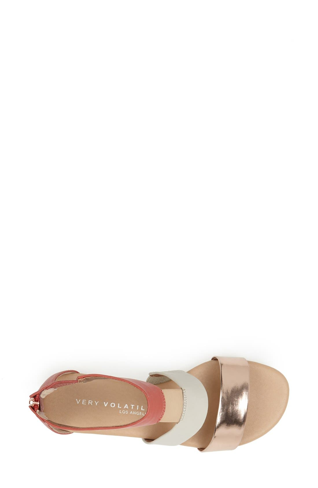 ,                             'Collective' Leather Sandal,                             Alternate thumbnail 10, color,                             950