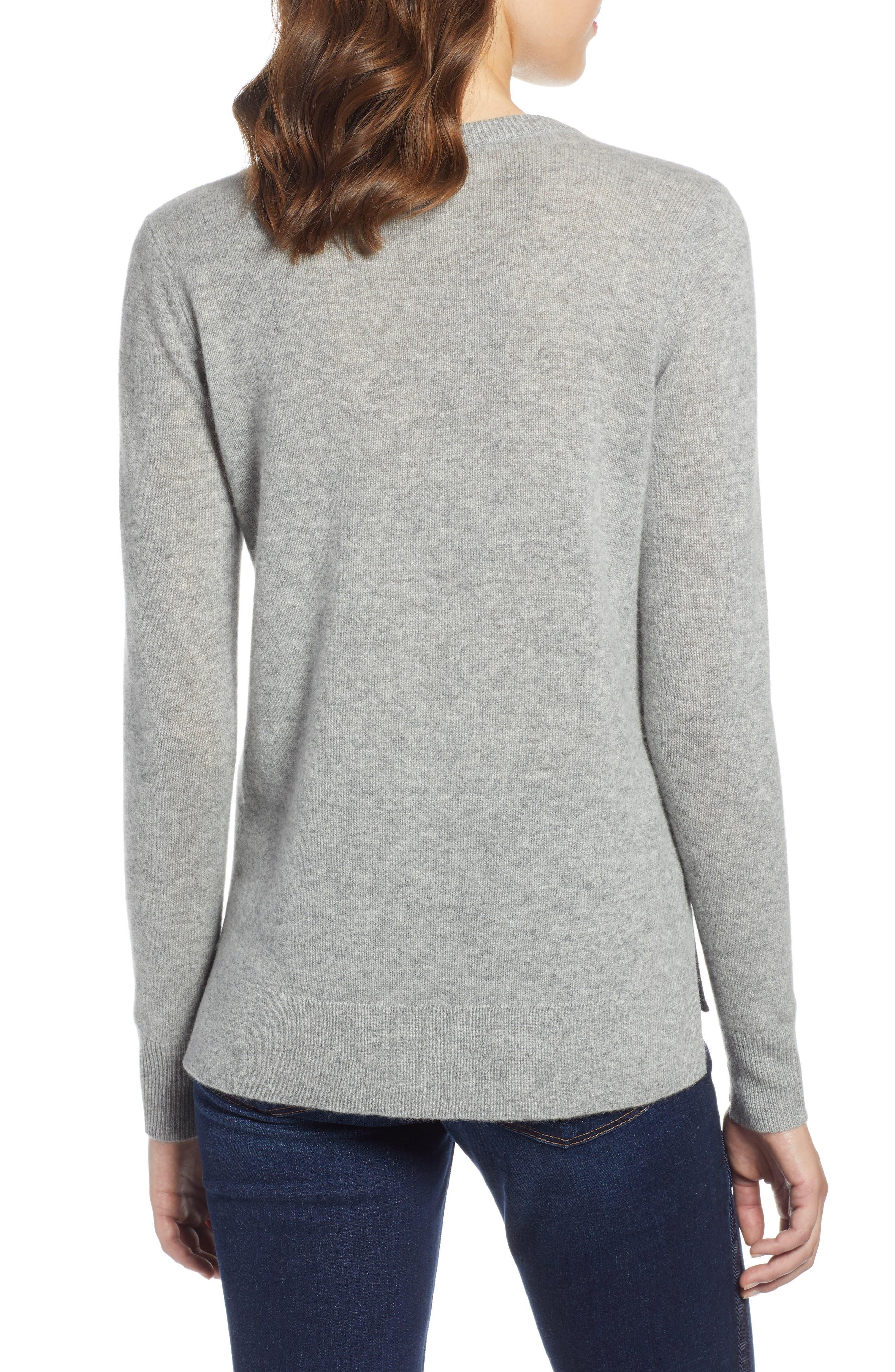 ,                             Crewneck Cashmere Sweater,                             Alternate thumbnail 30, color,                             030