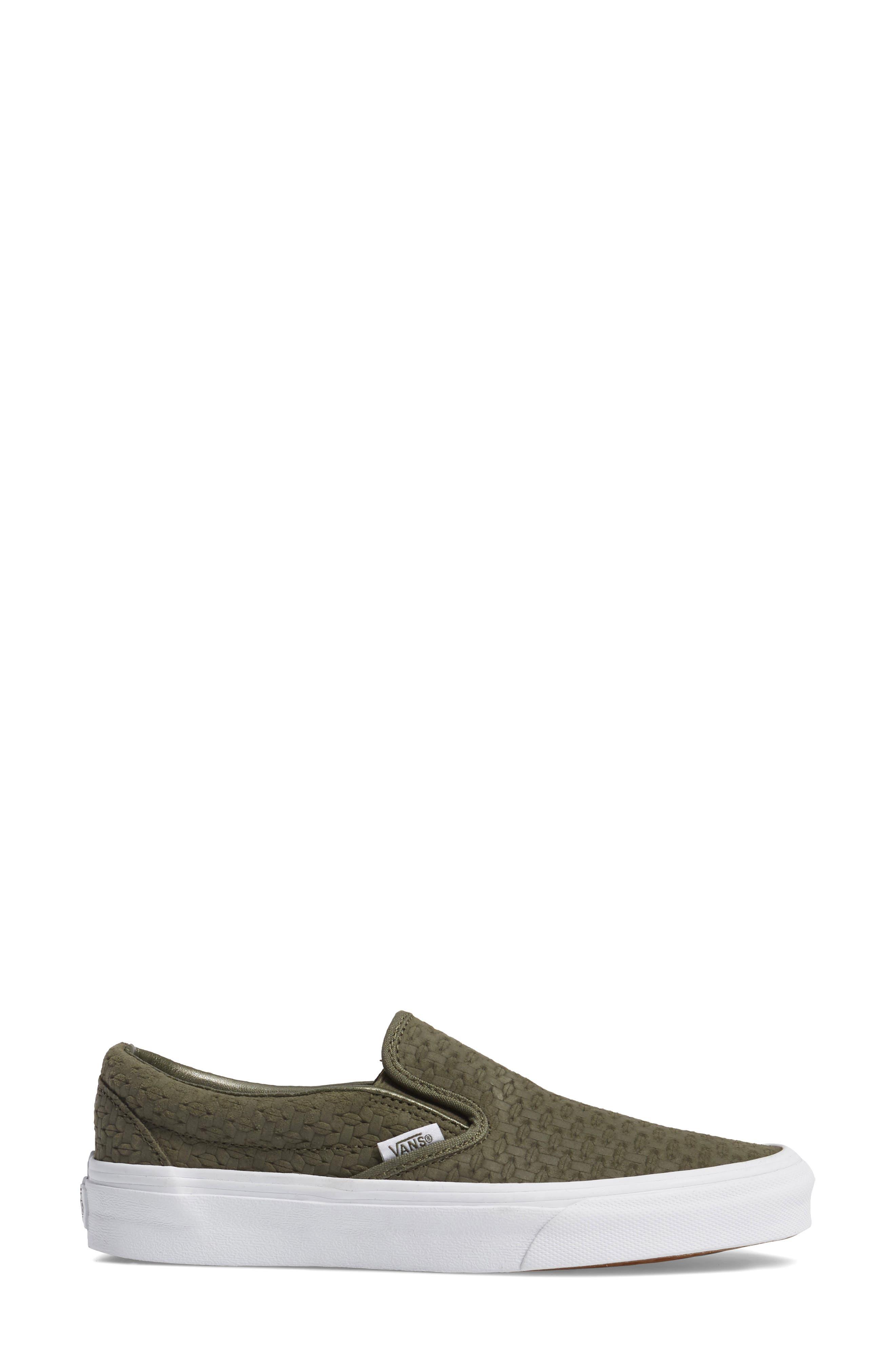,                             Classic Slip-On Sneaker,                             Alternate thumbnail 342, color,                             301