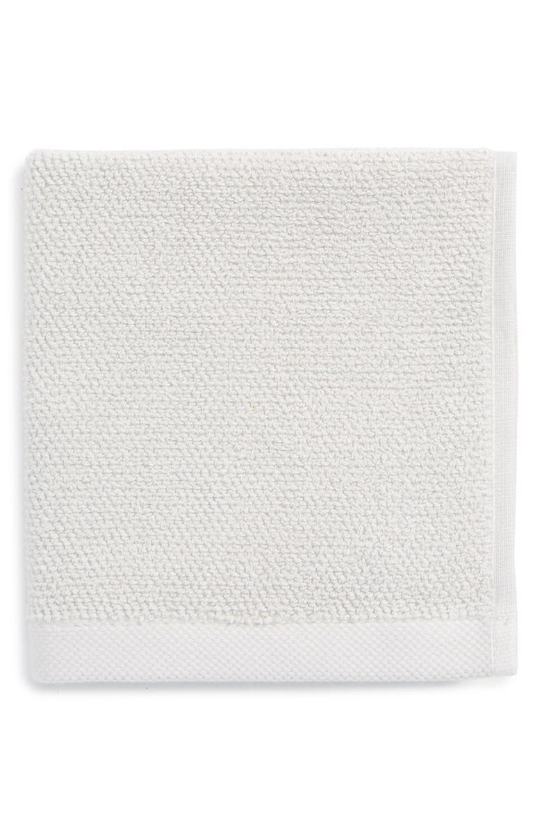 UGG<SUP>®</SUP> Classic Luxe Wash Towel, Main, color, STONE