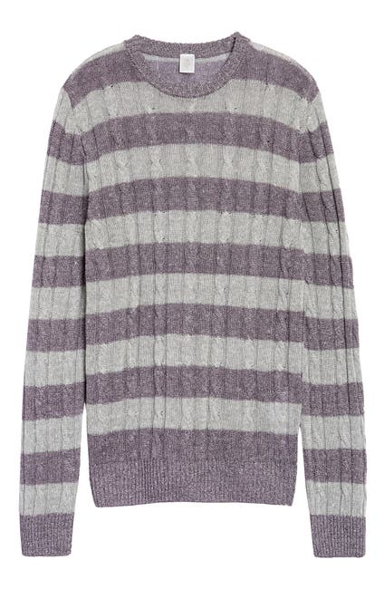 Image of ELEVENTY LS BABY CABLE KNIT SWEATER W H SLIM