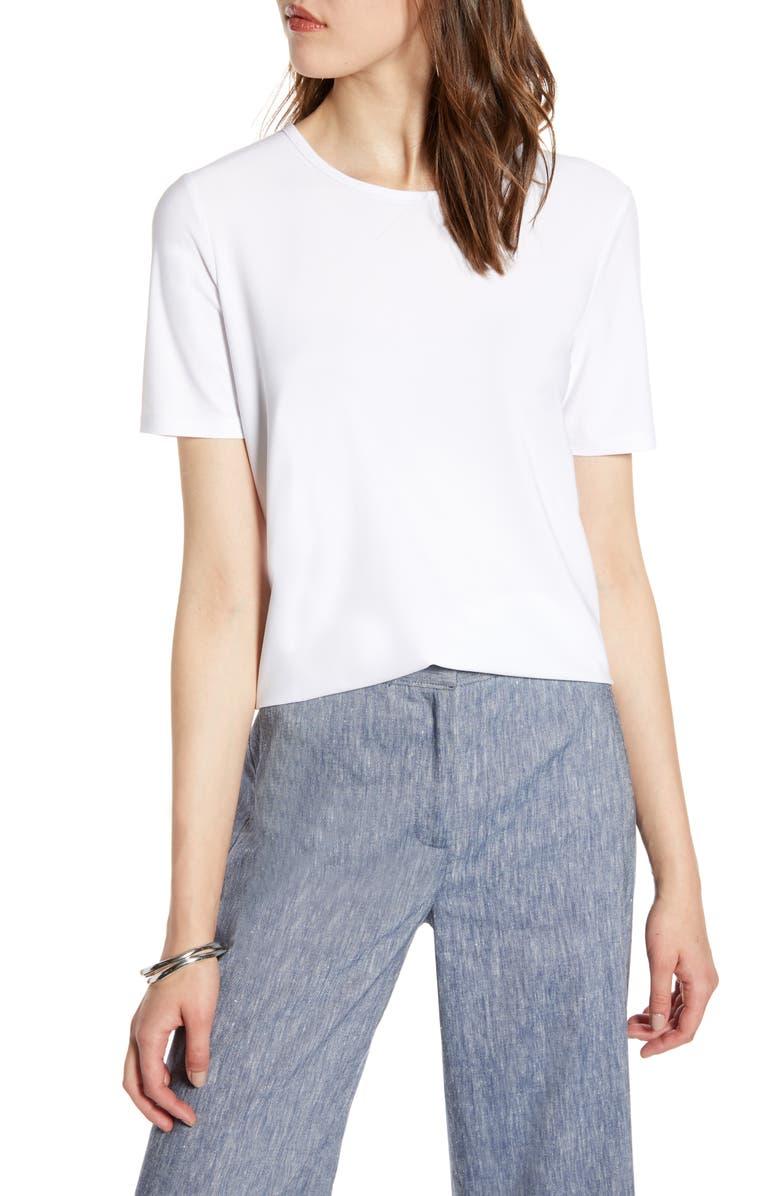 HALOGEN<SUP>®</SUP> Tie Back Knit Top, Main, color, 100