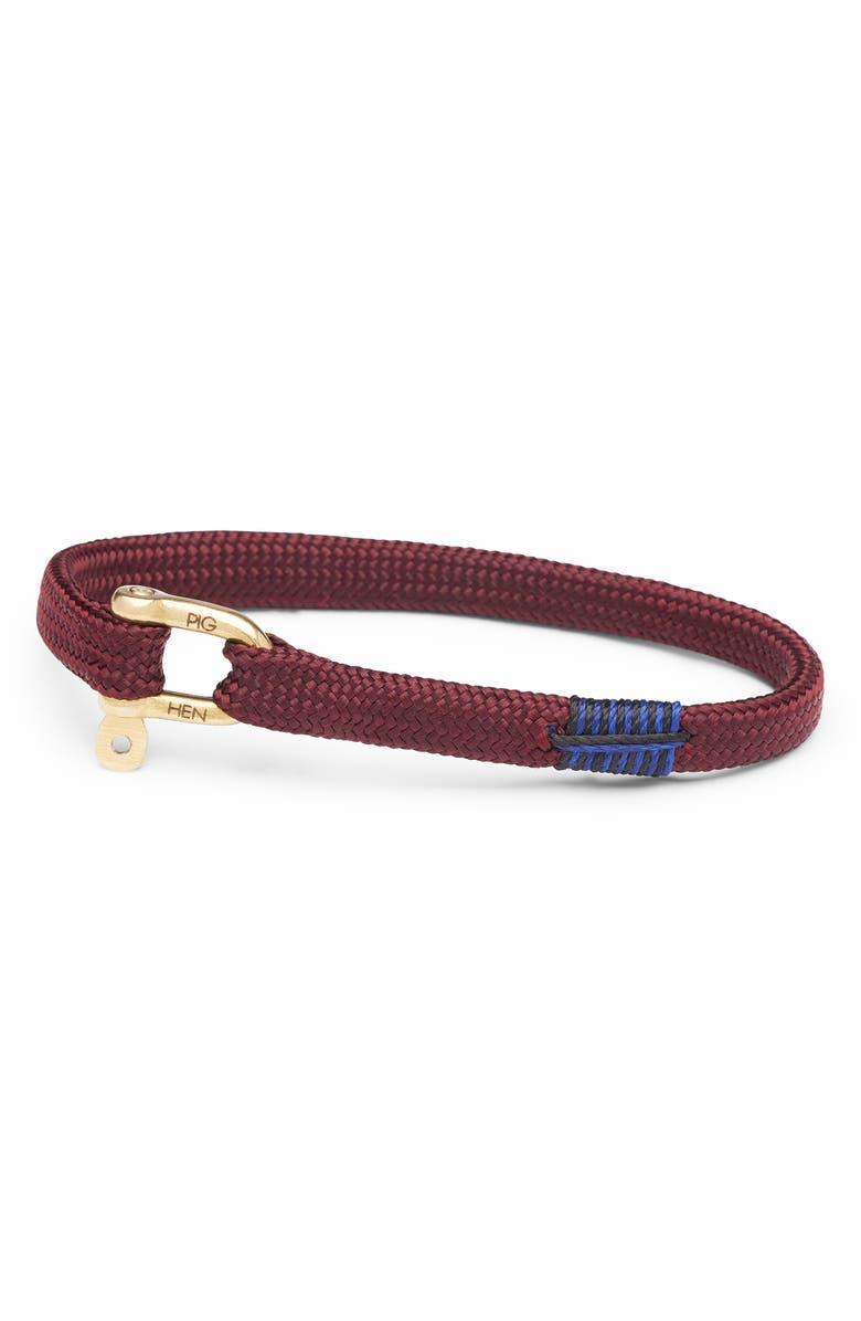 PIG & HEN Vicious Vik Clasp Bracelet, Main, color, 020