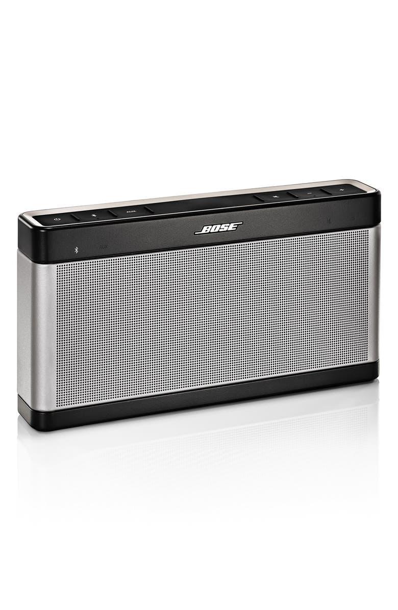BOSE<SUP>®</SUP> SoundLink<sup>®</sup> Bluetooth<sup>®</sup> Mobile Speaker III, Main, color, 020