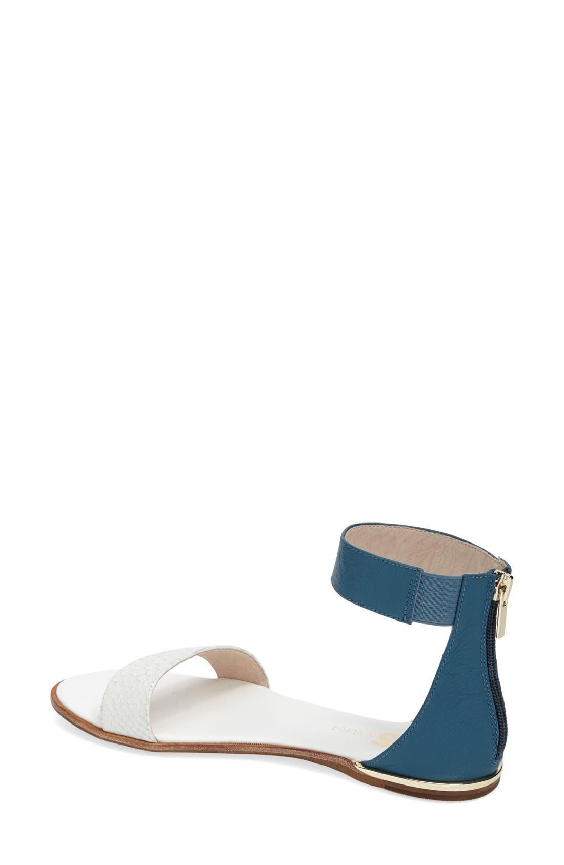 ,                             'Cambelle' Ankle Strap Sandal,                             Alternate thumbnail 21, color,                             103