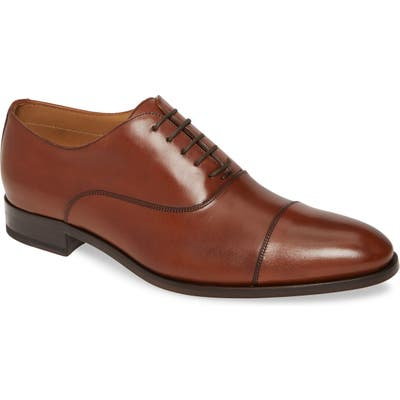 To Boot New York Forley Cap Toe Oxford, Brown