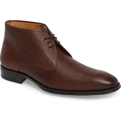 Mezlan Cabra Plain Toe Derby- Brown